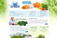Strona internetowa CK Frost